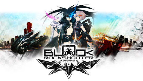Black Rock Shooter The Game PSP PPSSPP